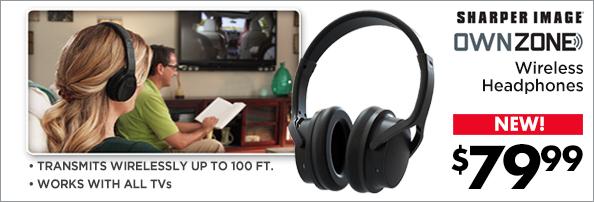 Sharper Image Own Zone Headphones
